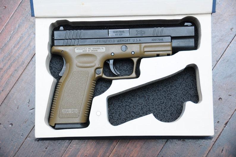 Book Safe for Full-Size Handguns  Made to Order  Hidden Book image 0