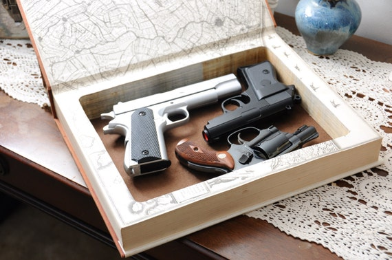 Book Safe for Large Handguns (over 9
