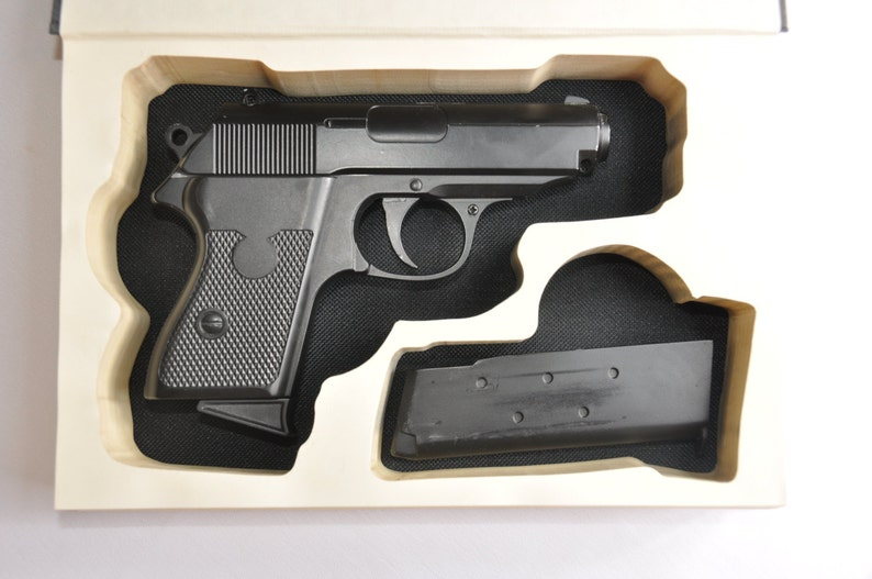 Multi-fit Book Safe for Compact Handguns - Ready to Ship - Hidden Book Gun  Case w/ Magazine cutout for Pistol Holster