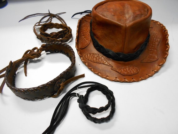 Cowboy Hat Band Hat Band Leather Hat Band Hat Bands  f510cc6eff3