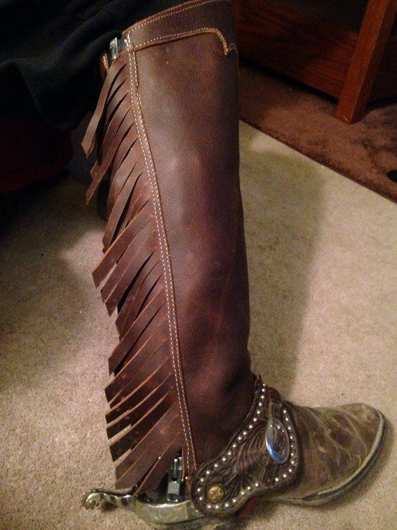Leather Chinks Half Chaps Half Chaps Western Chaps Grouse