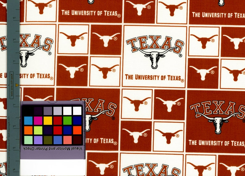8df38a9ae7eac University of Texas Longhorns Fabric by the Yard Licensed NCAA
