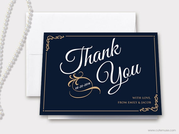 il_570xn - Personalized Thank You Cards