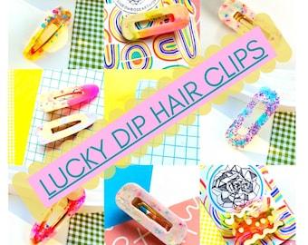 Hair clip/clasp lucky dip