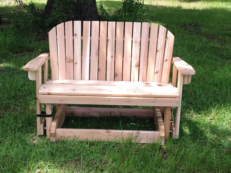 Pleasant Great Garden Bench Glider For Patio Machost Co Dining Chair Design Ideas Machostcouk