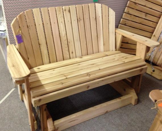 Superb Great Garden Bench Glider For Patio Machost Co Dining Chair Design Ideas Machostcouk