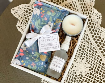 Spa Gift For Her Candle Relaxation Gifts Best Friend Birthday Thinking Of You Stress Relief