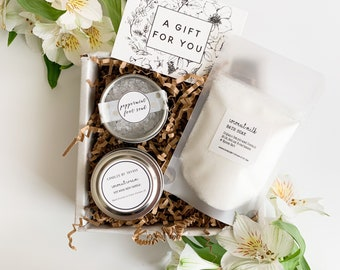 Mini Spa Gift / Relaxation Gift Set / Spa Gift for Her / Best Friend Gift / Thank You Gift / Birthday Gift / Relaxation Gift for Her