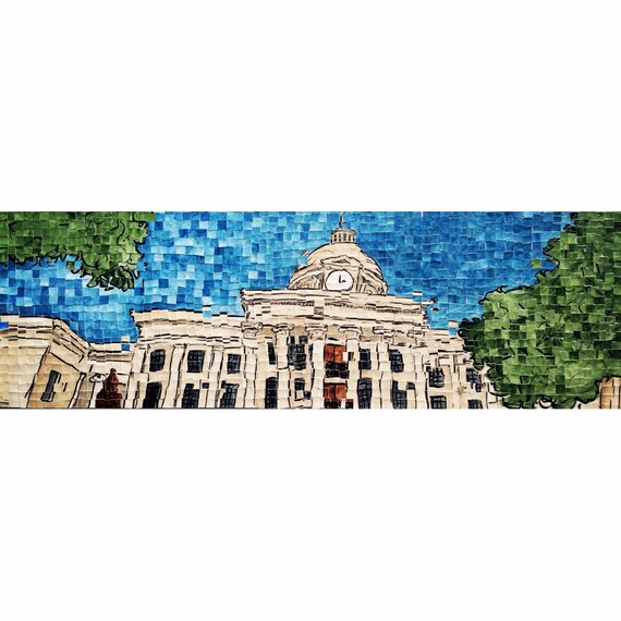 "Alabama Capitol Distortion 8: 12""x36"""