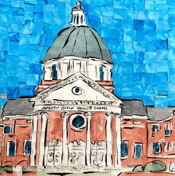 Samford University- Birmingham, Alabama - Architectural Art