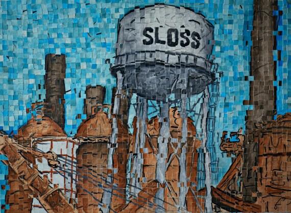 Sloss Furnaces Distortion 1: Print