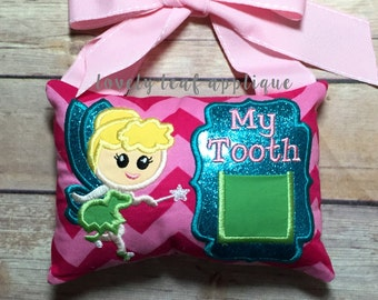 DIGITAL ITEM: Fairy Tooth Pillow ITH Designs