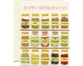 "Mom's Spices Mother's Day Card - ""Happy Mother's Day"" & ""Patience. Love. Strength."" - ID: MOM048"