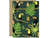 Toucans Everyday Just Because Blank Stationery Card - ID: EV131