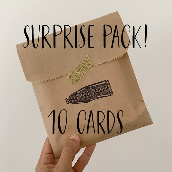 Mix and Match 10 Pack Mystery Card Bundle Greeting Card Pack
