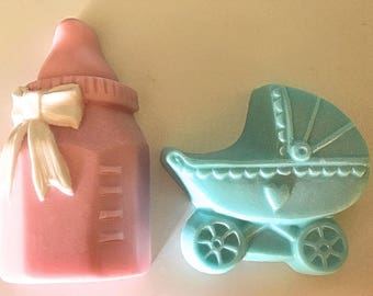 Baby Soaps -- BOTTLE AND CARRIAGE -- Baby powder scented