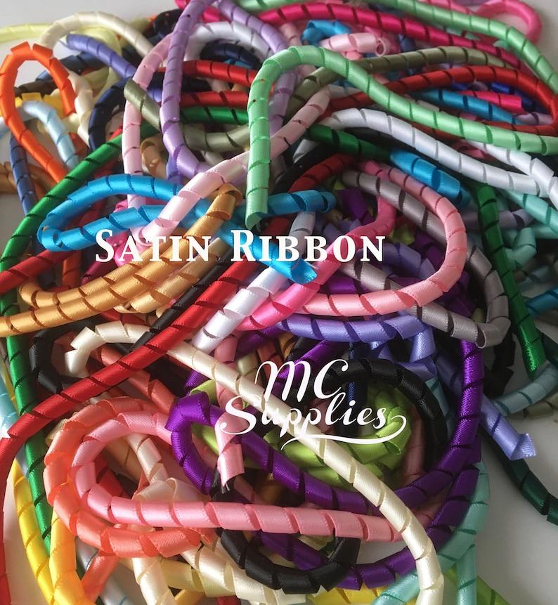 10 pcs,Korker ribbon,korkers,curled ribbon,gift wrap korker,korker ribbon,korkers for hair bows,korkers for headbands,18 long after baking