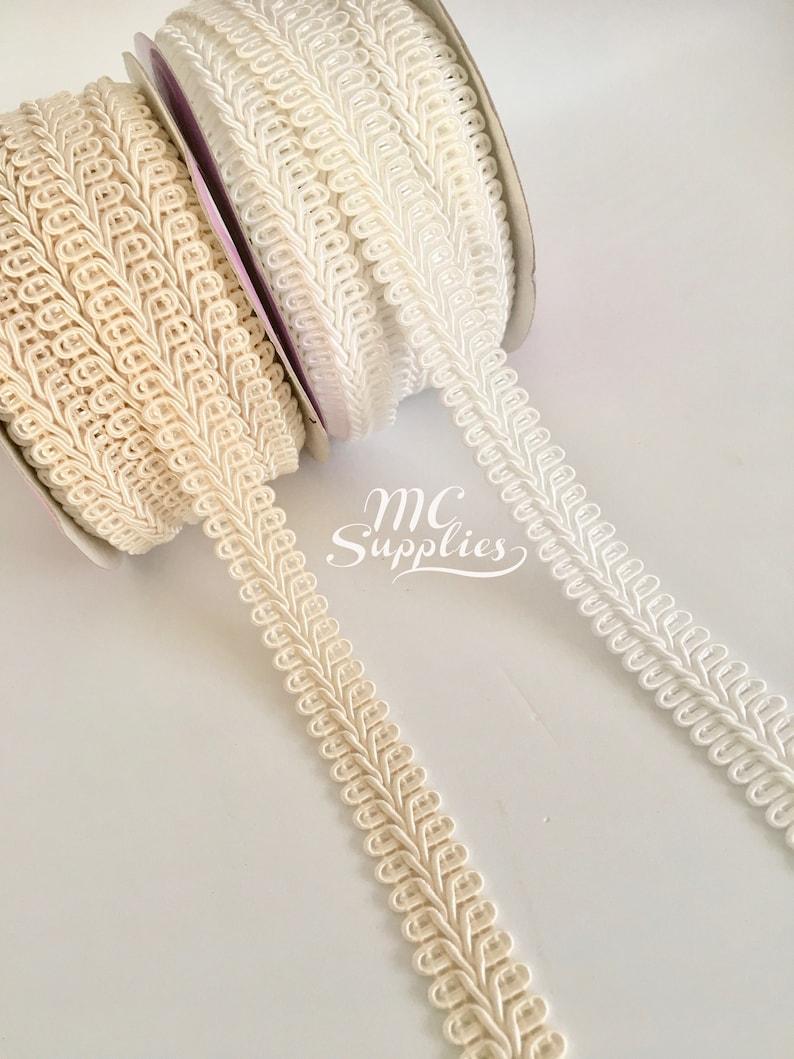 Ivory Gimp Braid Trim 3//8 X 10yds