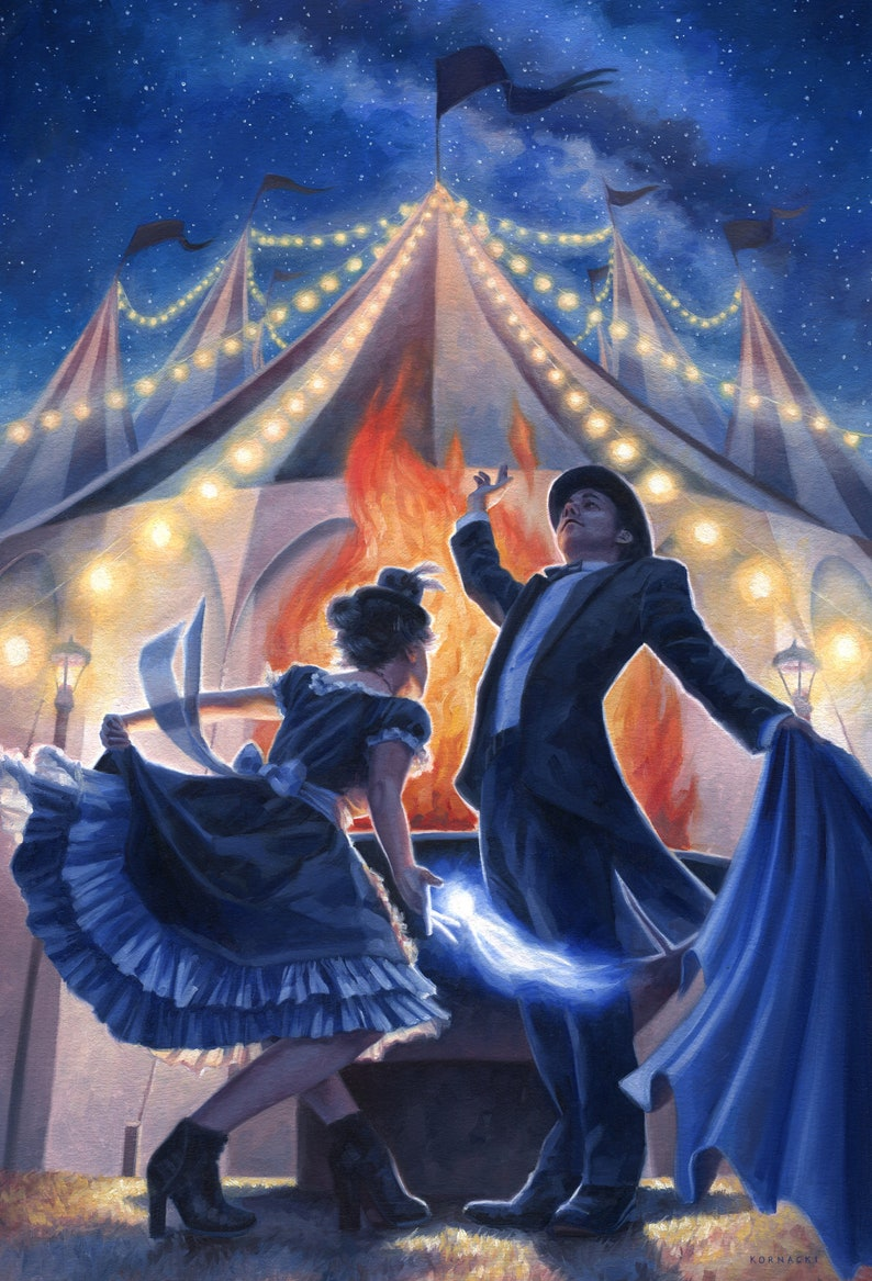 The Night Circus Illustration 11x14 Print image 0