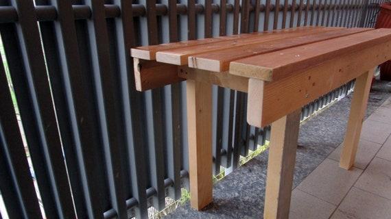 Tavoli Da Pranzo In Legno Riciclato : Panca sedia per tavolo da pranzo sedile di ingreso o per etsy