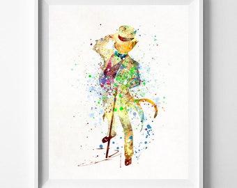Ghibli Art, Hayao Miyazaki, The Cat Returns, Ghibli Gift, Ghibli Poster, Miyazaki Art Print, Baron Print, Geek Art Poster, Fathers Day Gift