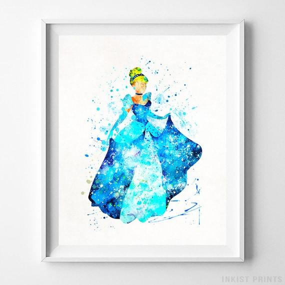 Princess Cinderella Disney Poster Cinderella Poster | Etsy
