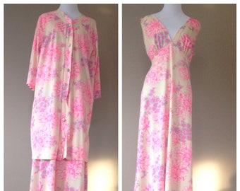 Vintage Lingerie Sleepwear Lingerie Set by Komar / FREE USA Shipping