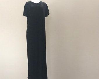 0abea4720a Vintage Velvet Nightgown by Cacique Lingerie