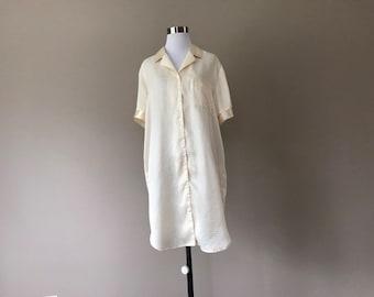 Vintage Nightshirt Night Shirt Sleepwear Lingerie 54ec51d0b