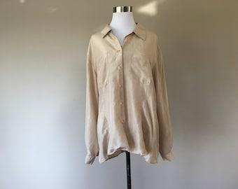a2507e981588c9 Vintage Silk Blouse by Liz Claiborne