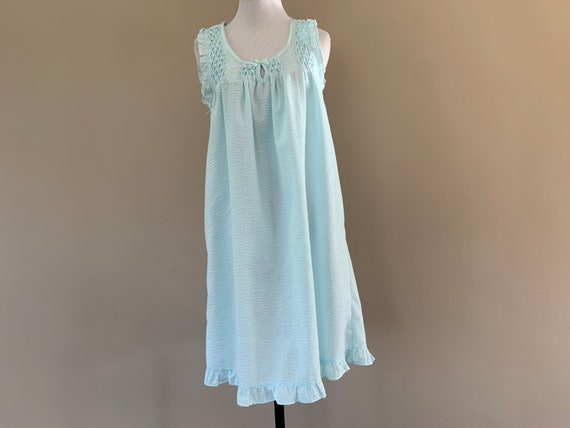 Smocked Nightgown Night Gown by Miss Elaine, Small