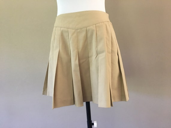Vintage Tennis Skirt by Tail, Pleated Tennis Skirt