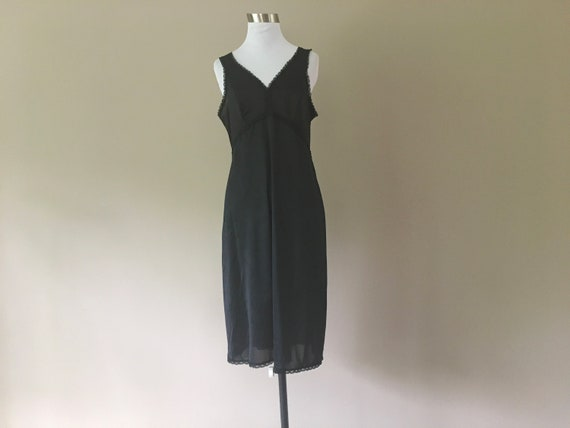 Vintage Wonder Maid Full Slip, Underdress Under D… - image 1