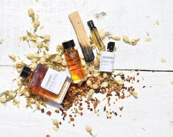 CHANDRA *Lt'd BATCH 2021   Natural Botanical Perfume   The Lunar Spell   Holy Tulsi, Palo Santo, Night Blooming Jasmine, Amber, Myrrh
