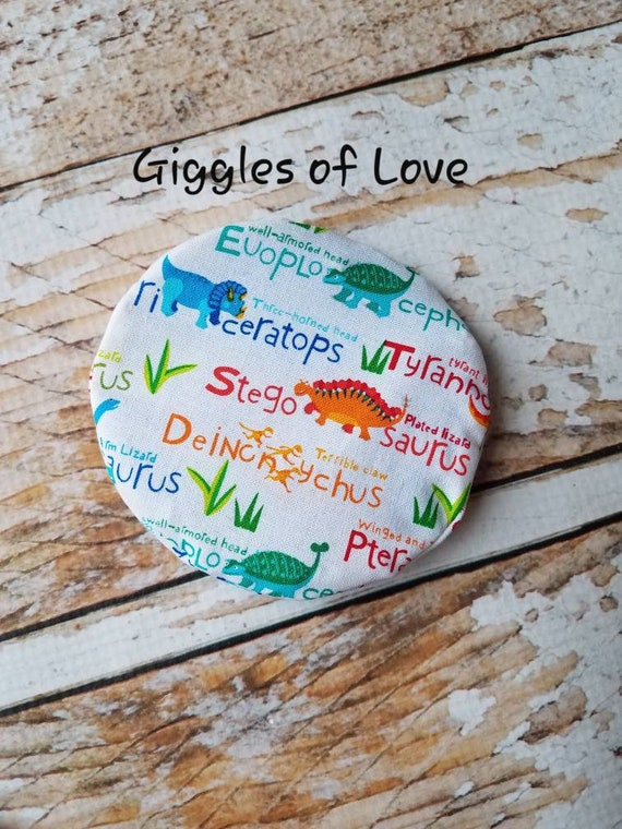Child Ice Pack (Dinosaurs)- injury ice pack, reusable, child kid toddler,  boo boo ice pack, first aid - personalized option