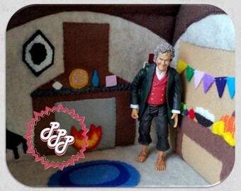Carry Along Felt Dollhouse Portable Hobbit Hole