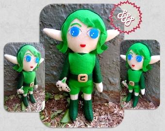 Legend of Zelda Plush Saria Doll Toy