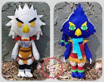 Legend of Zelda plush doll Rito Bird Revali Teba