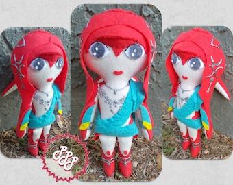 Legend of Zelda plush Mipha doll