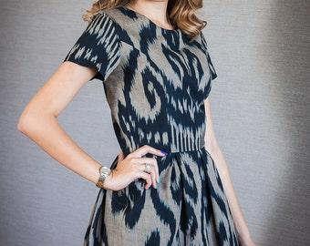 Samani by My Adras handwoven adras dress