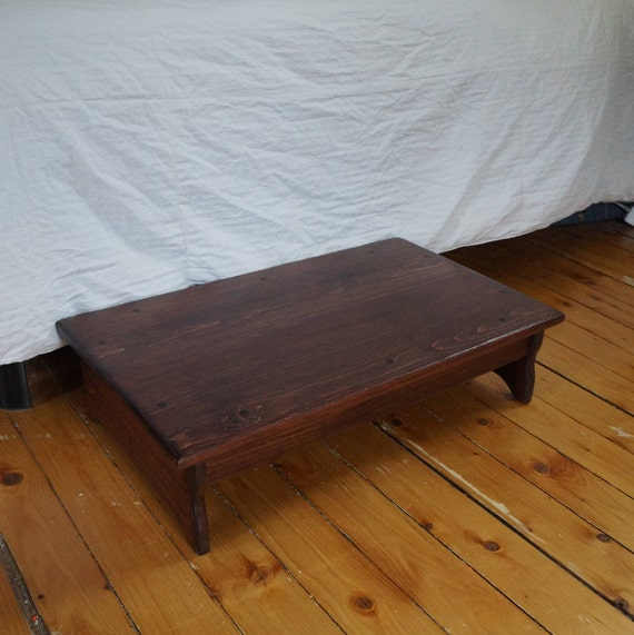 24 x 24 x 5 or 6 6.5 tall Heavy Duty Step Stool stains /& sizes avail Sculpture Stand Red Mahogany Solid Wood Dressmaker Platform
