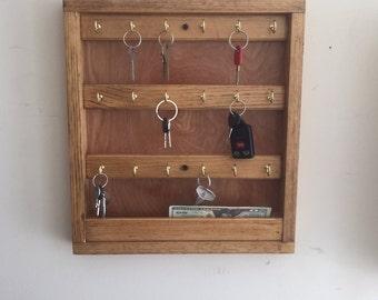 Wooden Key Cabinet | Etsy