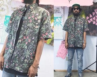 Vintage reyn spooner shirt summer casual hawaiian shirt faded 1990s 1980s medium