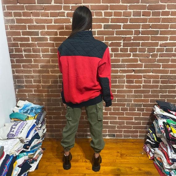Vintage fleece sweatshirt polo ralph lauren 80s r… - image 4
