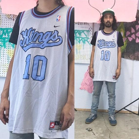 Vintage nike basketball jersey mike bibby 1990s 1980s size large