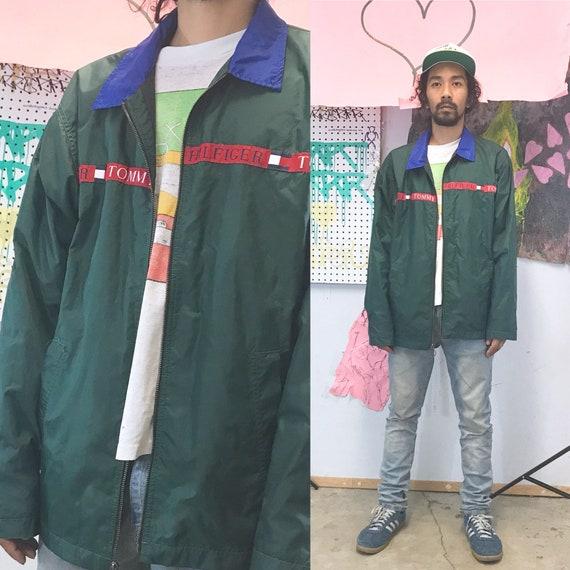 Vintage tommy hilfiger coach jacket windbreaker bl