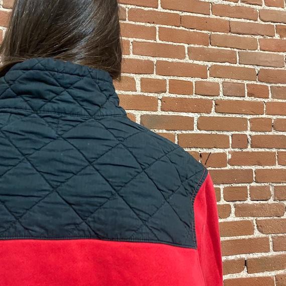 Vintage fleece sweatshirt polo ralph lauren 80s r… - image 5