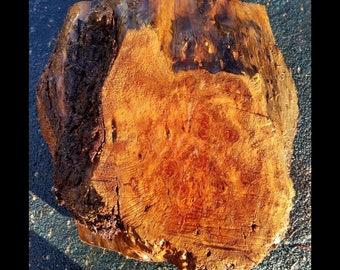 Bowl turning   wood turning   redwood burl block blank   bl1281