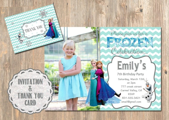 Disneys Frozen Birthday Invitation Printable Disney