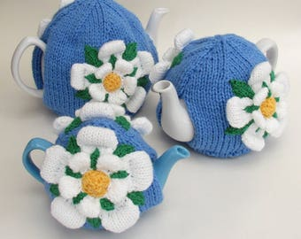 Yorkshire Rose Tea Cosy Knitting Pattern